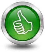 Thumb up down voting buttons